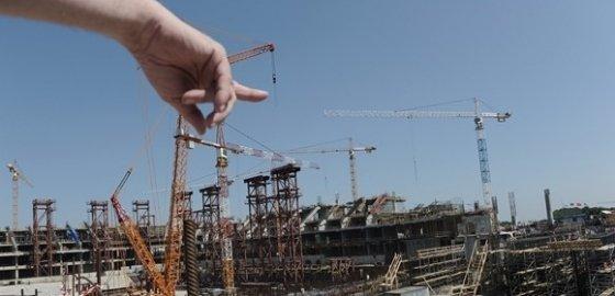 Строительство запущено. очень