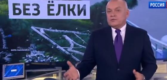 Передачу Киселева о Майдане признали пропагандой. В России!