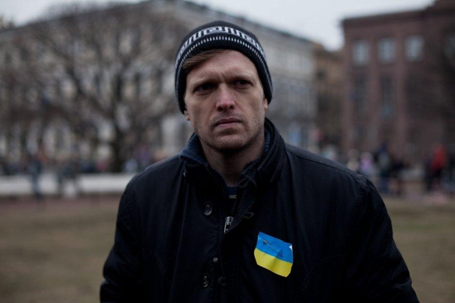 Митинг против войны в Крыму