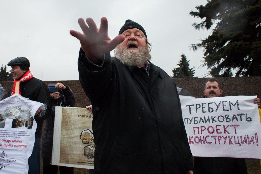 Никольские ряды: митинг в защиту