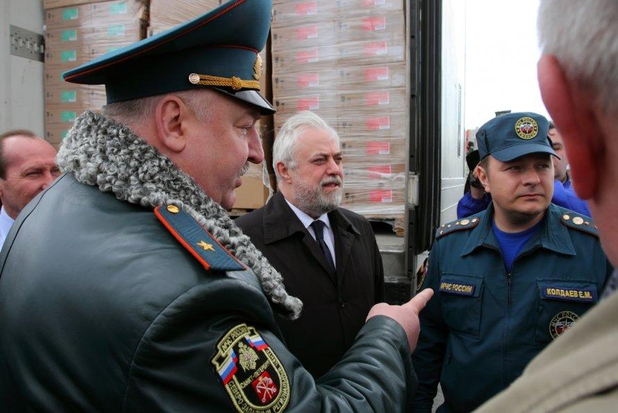 """Гуманитарный груз: """"Петербург- Симферополь"""""""