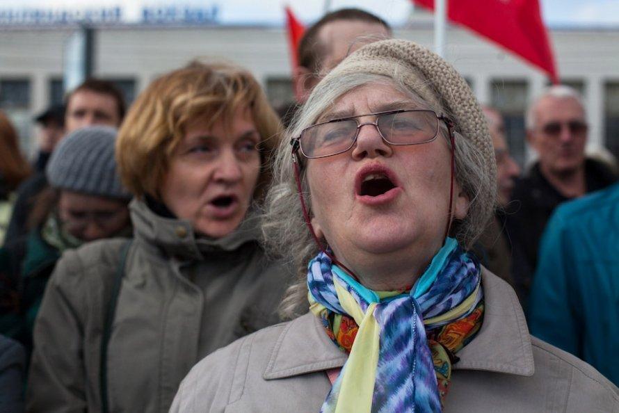 Петербург поддержал узников Болотной