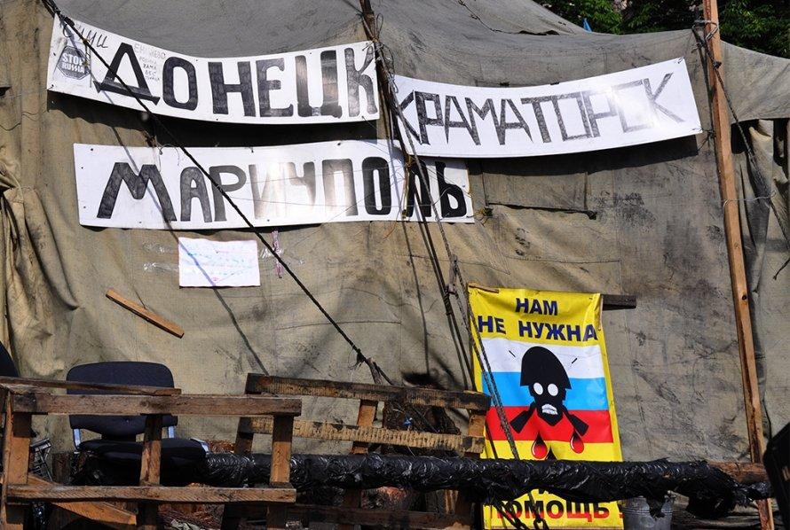 25 мая в Киеве: жара, град и выборы