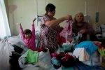 Украинские беженцы в Петербурге : Фоторепортаж