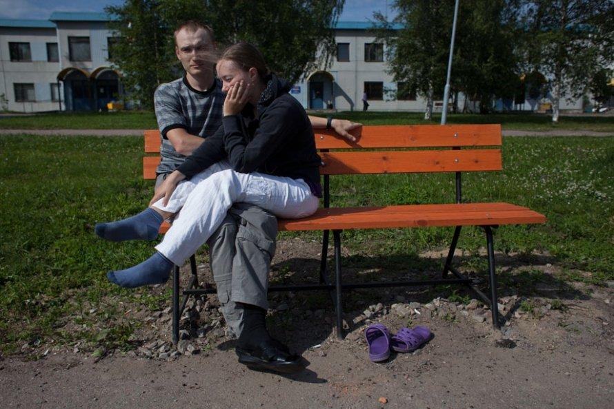 Украинские беженцы в Петербурге