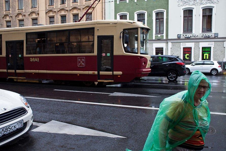 Читающий трамвай