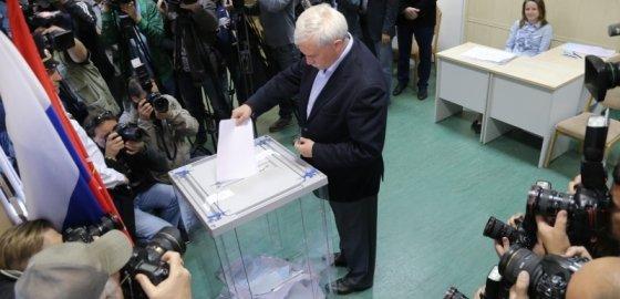 Полтавченко избавился от приставки