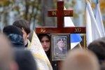 Фоторепортаж: «Похороны ополченца»