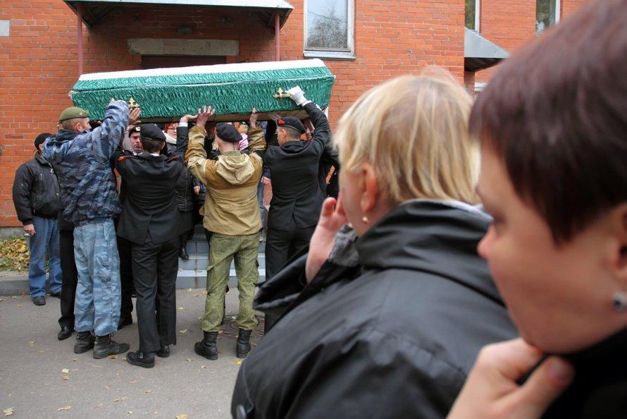 Похороны ополченца
