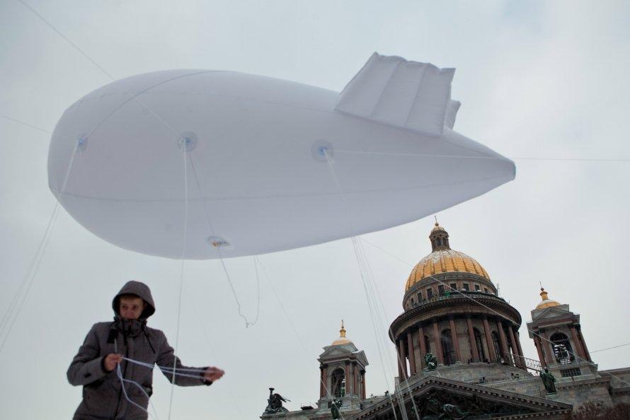 Аэростаты над Петербургом