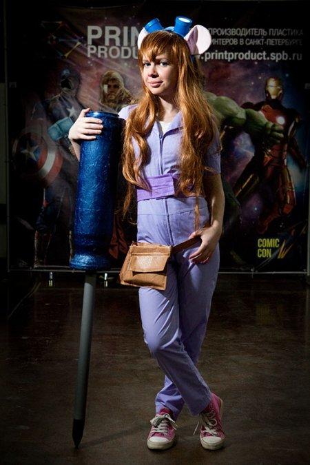 """Comic con: """"Всегда мечтал стать рыцарем, но не было доспехов"""""""