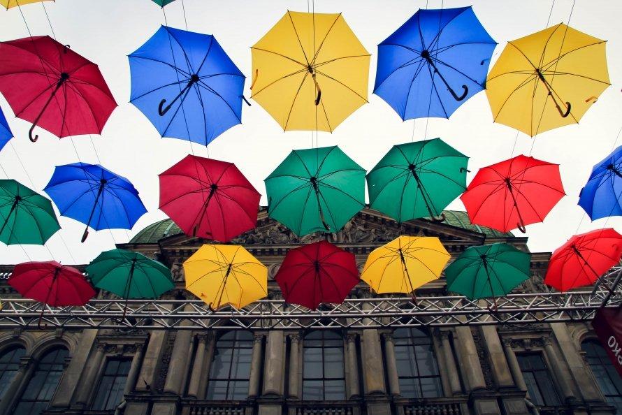 Зонтики на Соляном