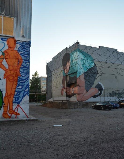 """""""Вспомни завтра"""": второе лето  Музея стрит-арта"""