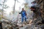 """Лесные пожарные """"Гринпис"""" на Байкале: Фоторепортаж"""
