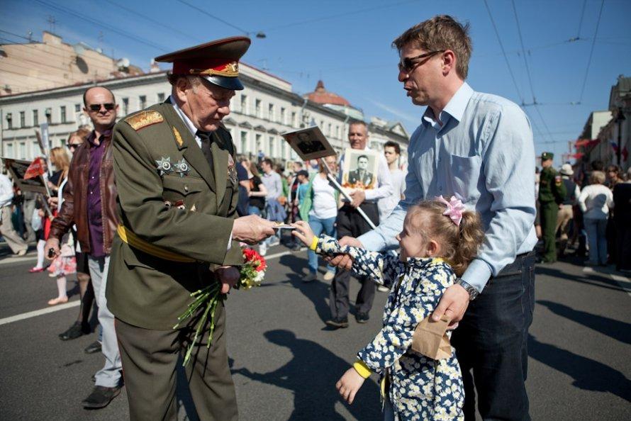 День Победы в Петербурге