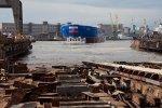 Самый большой и мощный в мире ледокол «Арктика» спущен на воду в Петербурге (16.06.2016): Фоторепортаж