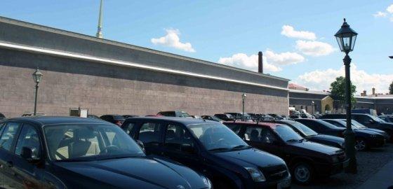Крепостной паркинг