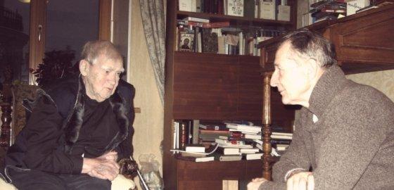 Дома у Гранина: «Наука была последним бастионом честности»