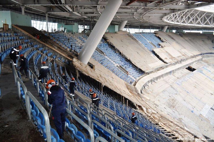 ФАС: договор постадиону наКрестовском на950 млн заключили снарушениями