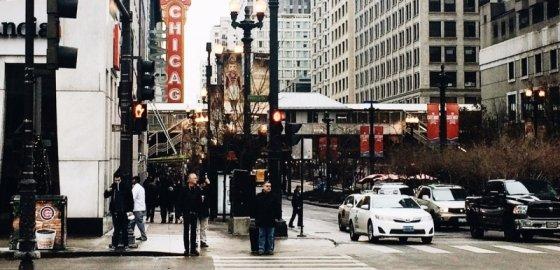 Человек в Чикаго