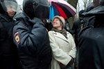Фоторепортаж: «Акция «Надоел» в Петербурге кончилась за 15 минут массовыми задержаниями»