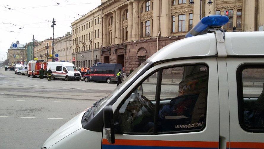 Теракт в петербургском метро