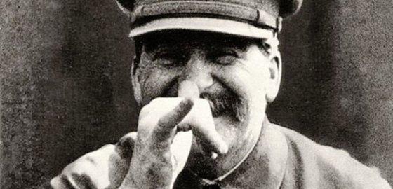 Неудачник Сталин. Анекдот