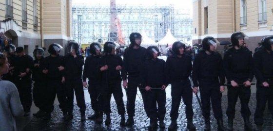 Протесты 12 июня в Петербурге. Онлайн