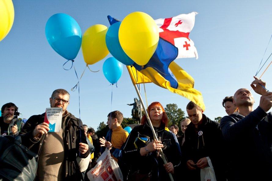 «Марш мира» в Петербурге (фото)