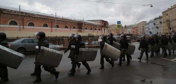 В Петербурге продолжается акция «Забастовка»