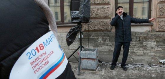 Люди в тапках бежали на выборы