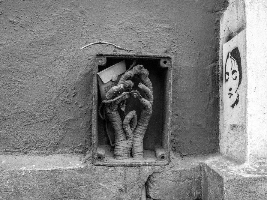 Беседы со стеной: поэзия граффити Петербурга