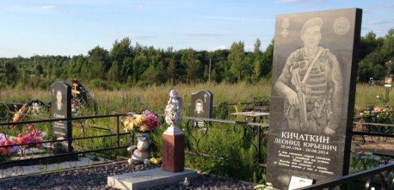 Две могилы рядом: Леонида и Лёни