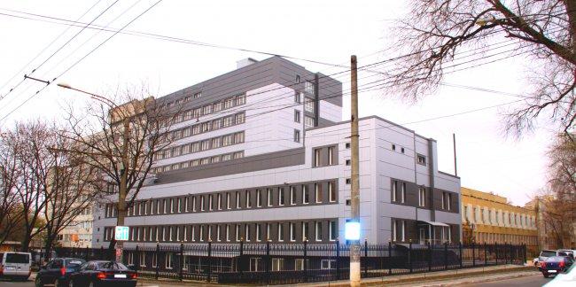 Здание Больницы скорой медицинской помощи в Кишиневе // Фото: urgenta.md