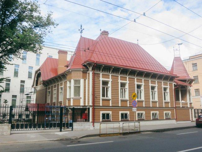 Особняк Добберт после реставрации // Фото: silco.spb.ru