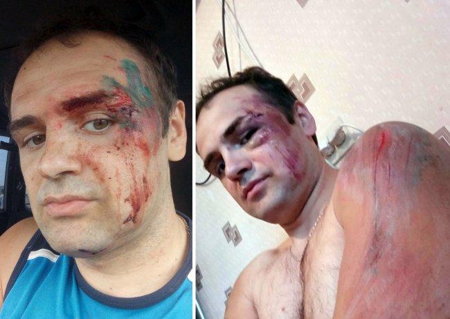 Константин Каширин после веломарафона // Фото: vk.com