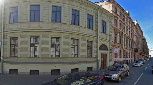 Здание на Разъезжей улице, где расположена штаб-квартира петербургского «Мемориала» // Фото: yandex.ru