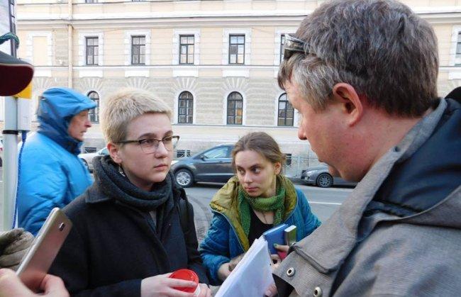 Члены ОНК Петербурга Екатерина Косаревская (слева) и Яна Теплицкая // Фото: facebook.com