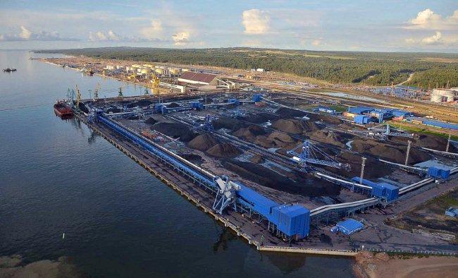 Угольный терминал // Фото: ust-luga.ru