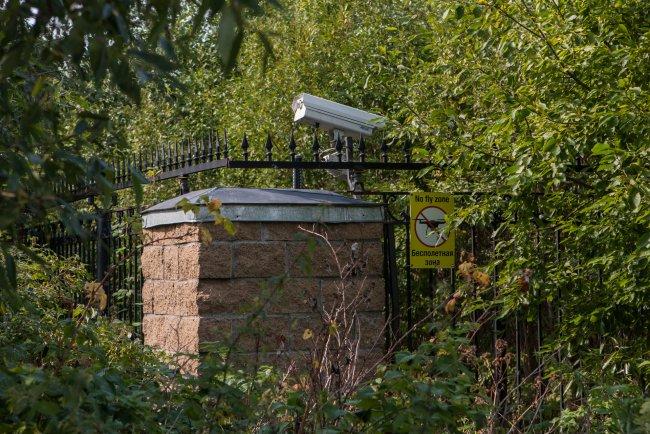 «Путинский забор» // Фото: Елена Лукьянова