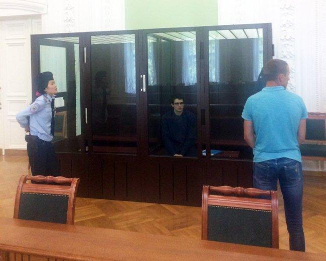 Евгений Ефимов в суде // Фото: Объединенная пресс-служба петербургских судов
