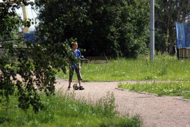 Парк на Канонерском острове // Фото: Олеся Литвиненко