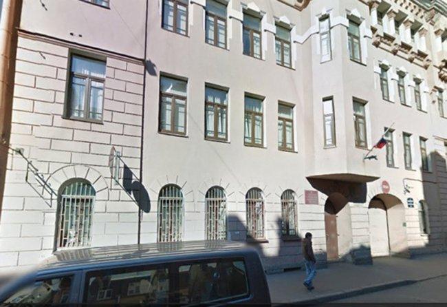 Смольнинский районный суд Петербурга // Фото: openrussia.org