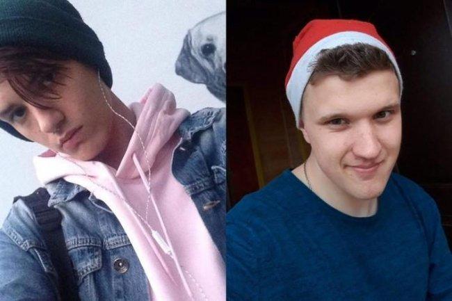 Погибшие Андрей Начинкин (слева) и Максим Шустров // Фото: vk.com