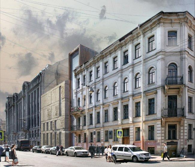 Проектное предложение мастерской Евгения Герасимова // Фото: egp.spb.ru