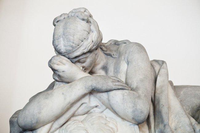 В музее городской скульптуры / Фото: Елена Лукьянова