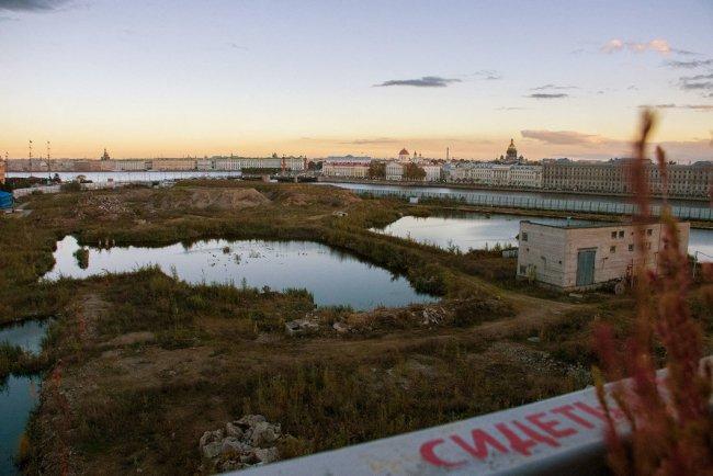 Территория будущего судебного квартала / Фото: Евгений Егоров, «Ведомости»