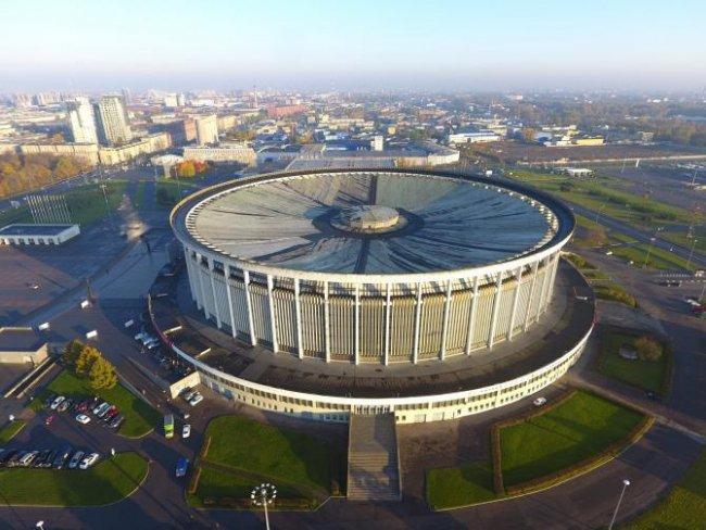 Спортивно-концертный комплекс (СКК). Вид сверху / Фото: wikipedia.org