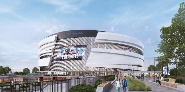 Доработанная концепция ледовой арены / Фото: «Новая газета»