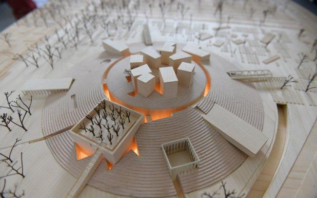 Победивший в конкурсе архитектурных решений проект студии Никиты Явейна / Фото: fontanka.ru